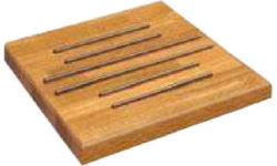 Large Wood Corner Panrest